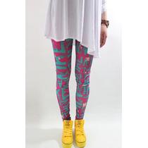 Legging Importada - Estampa Nike - Pink- Excelente Qualidade