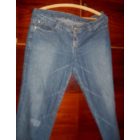 Calç Feminina Em Jeans Tradicional 42