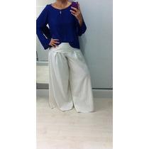 Pantalona De Linho Branca