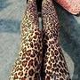 Calça Legging Onça/leopardo - Produto Importado
