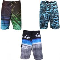 Kit Bermuda Shorts Tactel Lote 3 Unidades Sai R$ 27,99 Cada