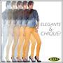 Calça Jeans #ri19 Skinny #amarela Mostarda - #lançamento
