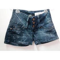 Shorts Jeans Rock Blue - Feminino