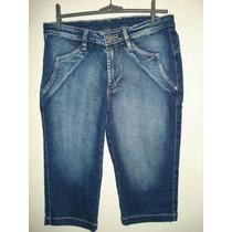 Bermuda Jeans Com Elastano Da Loopper Tam 44
