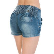 Shorts Azul Jeans Sexy Funk Temos Shortinhos Sawary Bumbum