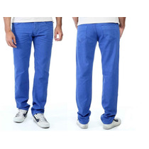 Sawary Calça Jeans Sarja Com Elastano Masculina