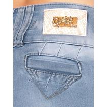 Calça Gata Jeans Leg Skinny Delavê Atacado E Varejo Ca798 Pt