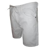 Bermuda Jeans Quiksilver Branca Qs65 Frete Grátis
