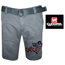 Bermuda Jeans Color Cyclone (frete Grátis)