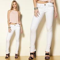 Calça Skinny Branca Reveillon - D