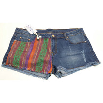 Short Jeans Bordado Bali