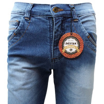 Calça Jeans Masculina Skinny Com Lycra