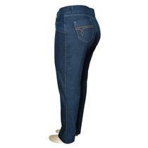 Calça Plus Size Jeans Com Lycra (tamanho Grande)