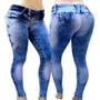 Calca Leg Jeans Levanta Bumbum Helix Credencial Tomix