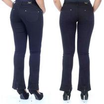 Sawary Calça Jeans Feminina Flare Com Elastano By Pit Bull