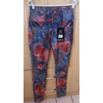 Mara Coleção Nova Calça Jeans Darlook Floral !!!