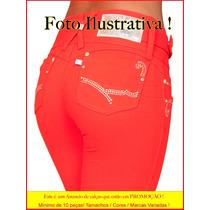 Calças Jeans Skinny Strech Atacado 10 Peças Gata Sawary Ri19