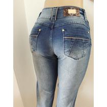 Calça Jeans Sawary Cintura Média Tamanho 38