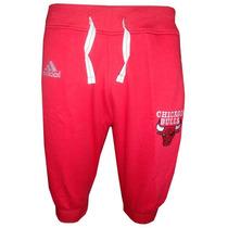 Bermuda Saruel Adidas Chicago Bulls Vermelha Original