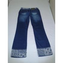 Calca Jeans Feminina Meia Canela Darrot!
