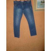 Calça Jeans Elastano - 44 Qe/ Masculina