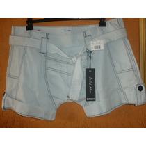 Shorts Saruel Roxy - 38 Feminino