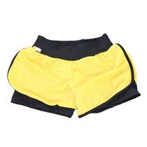 Short Duplo Fitness - Plus Size - Roupa Para Academia 46 50