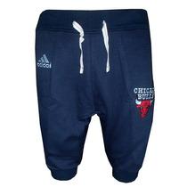 Bermuda Saruel Adidas Chicago Bulls Azul Marinho Original