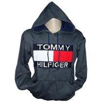 Blusa De Moletom Tommy Hilfiger Chumbo Ref Tfy Original