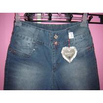 Bermuda Jeans Feminina Tamanho 44 E 46...promoção 50% Descon