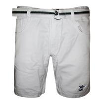 Bermuda Jeans Sergio K Branca Kkp