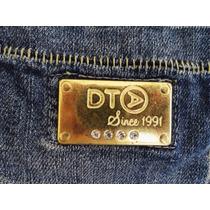 Calça Jeans Da Dta Disritmia Linda Com Brinde