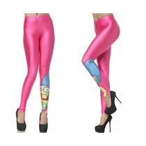 Calça Legging Marge Simpson - Calça Leg Moderna - Vintage