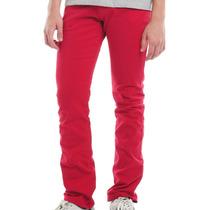 Calça Jeans Skinny Colorida Masculina -