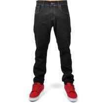 Calça Hurley Jeans Masculina 84 Slim Preta