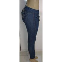 Calça Jeans Fem,marca Planeta Girls 38 C/ Strech Semi Nova