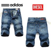Bermuda Adidas Shorts Jeans Masc New Original Importadas