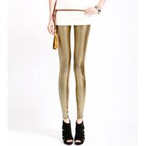 Legging Importada - Metalizada - Dourada