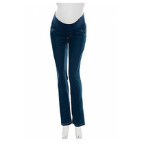 Calça Jeans Escura Emma Fiorezi - Tam M (40/42) P/ Gestante