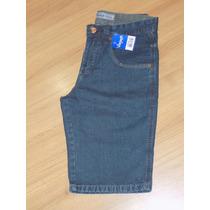 Bermuda Jeans Tradicional Masculina - Tam: 38 A 48