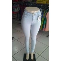 Calça Jeans Cintura Alta Nos Tamanhos 36 Ao 46 Apenas 89,99!