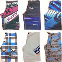 Kit Bermuda Shorts Tactel Lote 10 Unidades Sai R$ 18,99 Cada