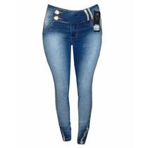 Calça Jeans Pit Bull Feminina Original Ptb1346 Frete Grátis