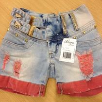 Shorts Rhero Jeans Claro