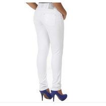 Calça Jeans Feminina Branca Levanta Bumbum Sawary