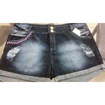 Short Jeans Plus Size Nos Tamanhos 44 Ao 54