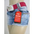 Shorts Pitbull Pit Bull Jeans Modela O Bumbum Bojo E Cinto!