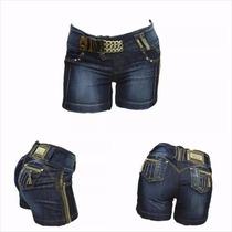 Pit Bull Pitbull Shorts Jeans Feminino Ref 14783