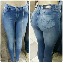 Calça Jeans Hot Pants Cintura Alta Até O Tamanho 46
