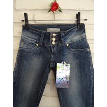 Calça Jeans Da Bwana Linda Com Brinde